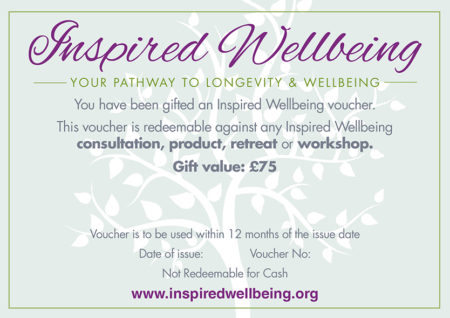 About Me: Rebecca Jones - Inspired Wellbeing Nutrition