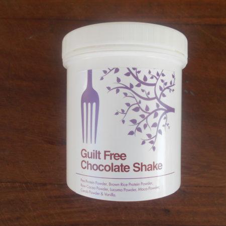 Guilt free chocolate shake