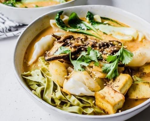 Shitake Bok Choy Soup