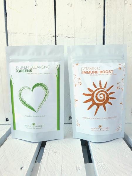 Cleansing Greens Vitamin C Twinpack