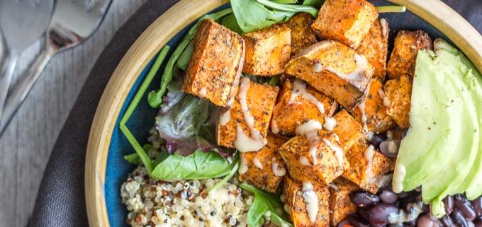 Sweet Potatoe and Quinoa Salad