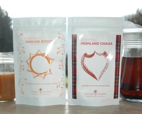 Chaga and Vitamin C Formula